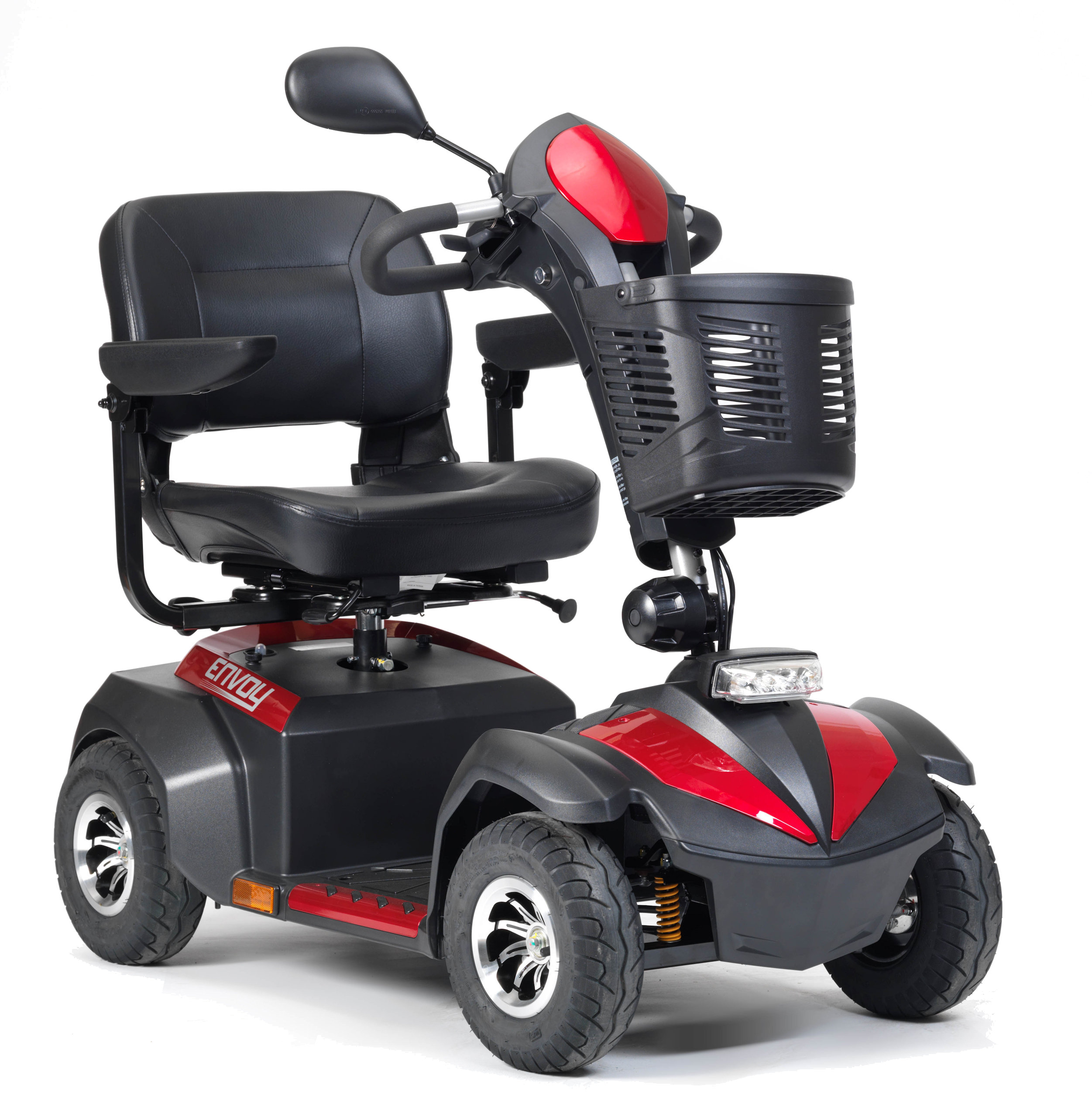 Drive Envoy 6 Mobility Scooter In Red