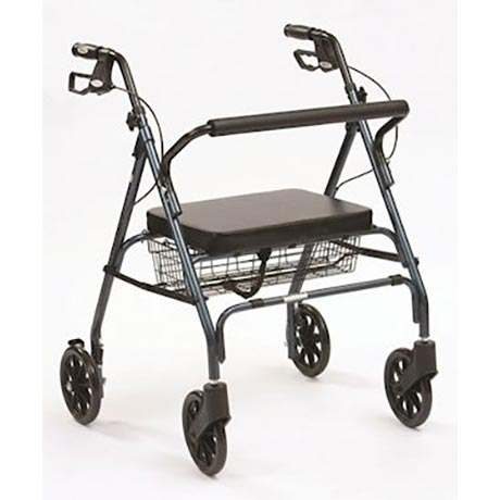The Heavy Duty rollator made for the larger person