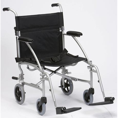 A lightweight Aluminium Travel Wheelchair