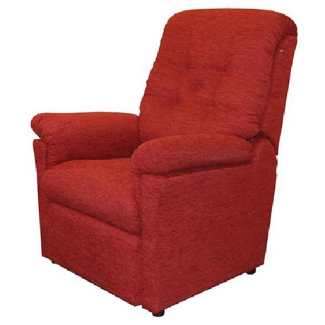 The Dalerise Premium Rise and Recline Chair in Red