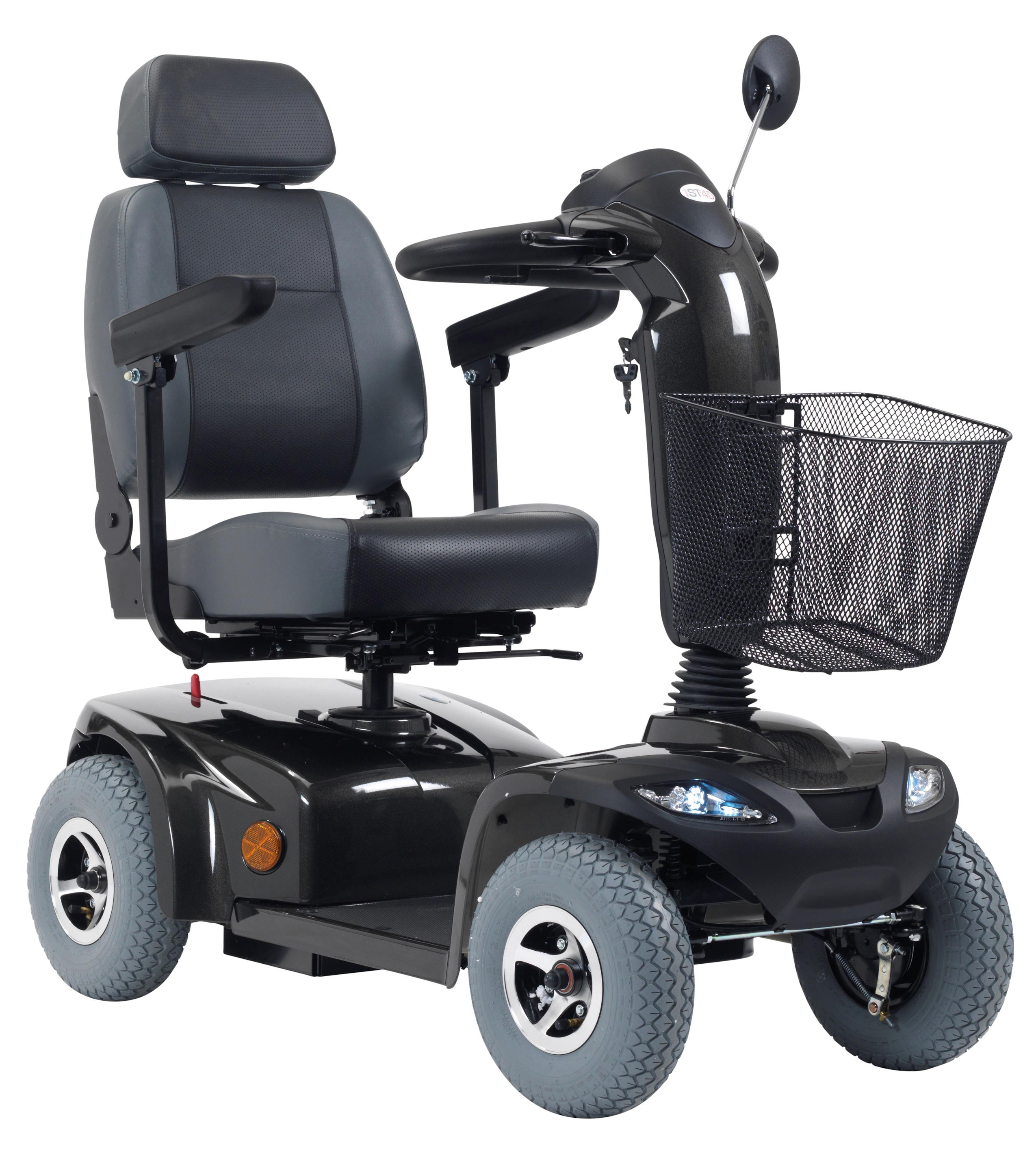 Drive ST4D Mobility Scooter in Anthracite Grey