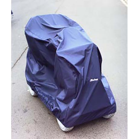 The Standard Scooter Storage Cover shown in blue
