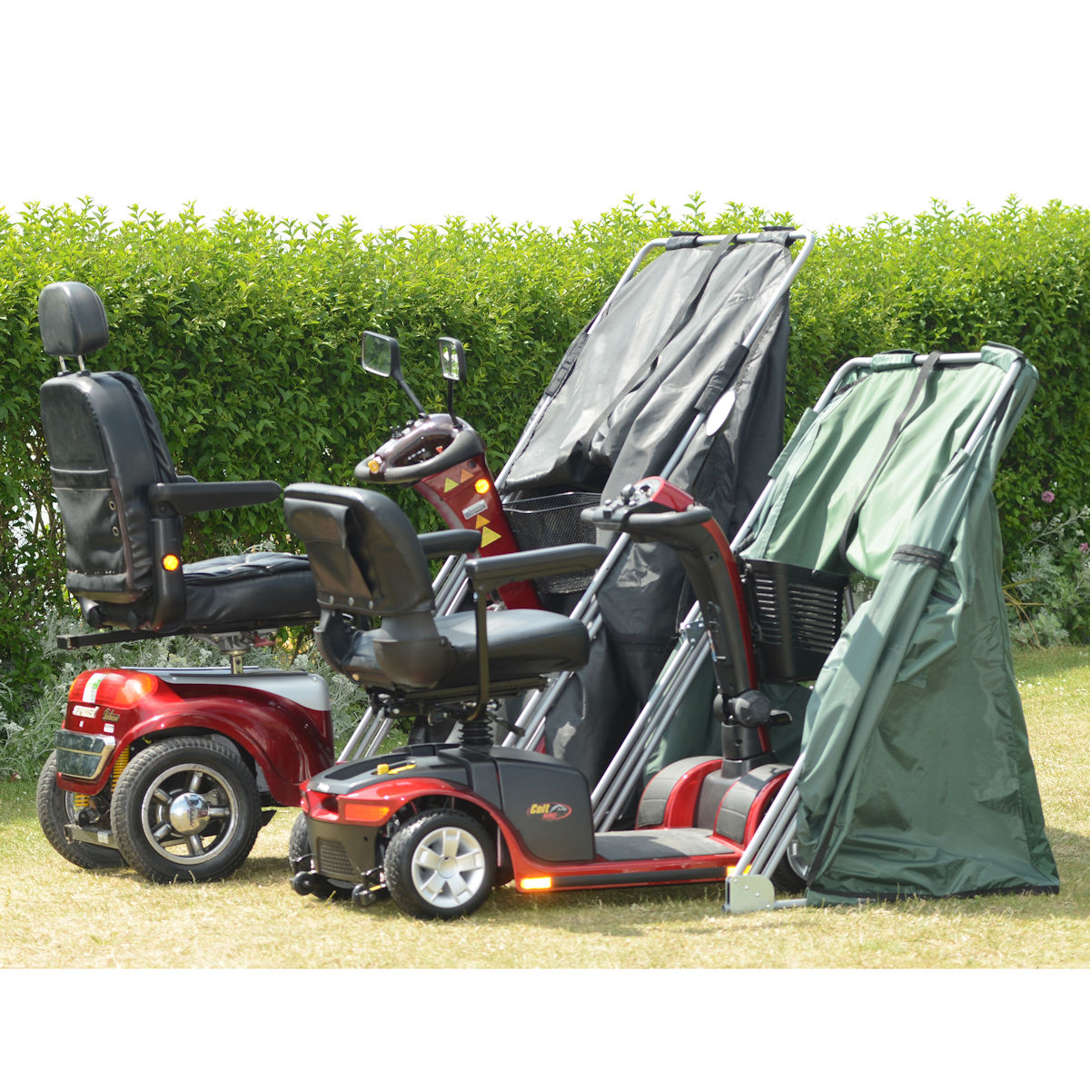 Mobility Scooter Shelter in Large and Medium Sizes