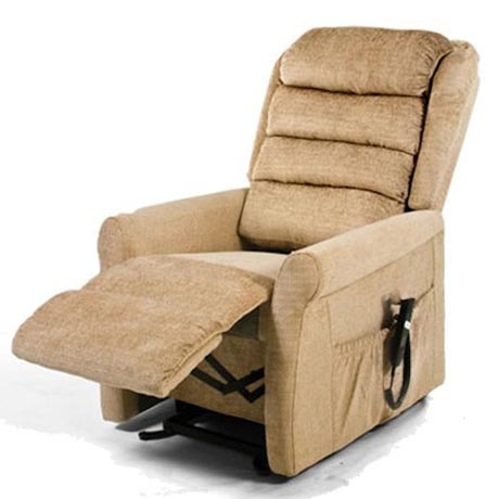 Serena rise and recline chair with waterfall back
