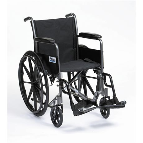 The Silver Sport Self Propelled Wheelchair