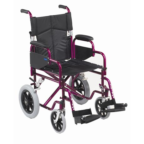 The Enigma Transit Superior Steel Wheel Chair is excellent value
