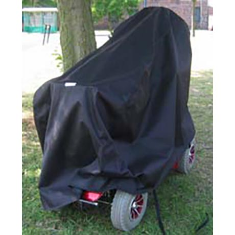 Heavy Duty Mobility Scooter Storage Cover in Black